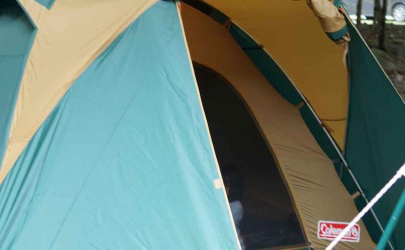 バウアーハウスジャパンキャンプ場で初めてのテント泊!!