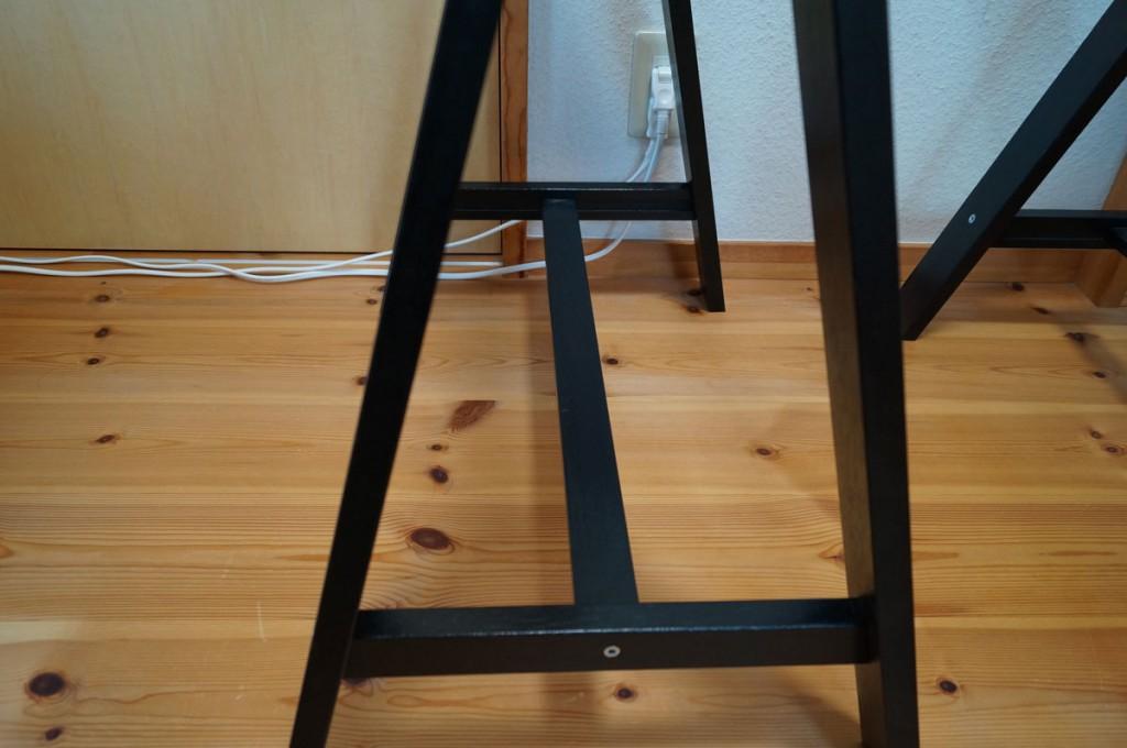 DIYで簡単、のせるだけの机3