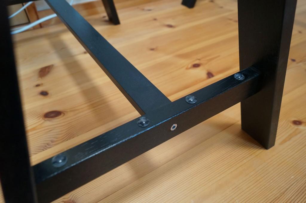 DIYで簡単、のせるだけの机4