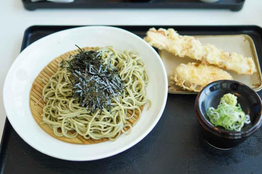 狭山の茶蕎麦1