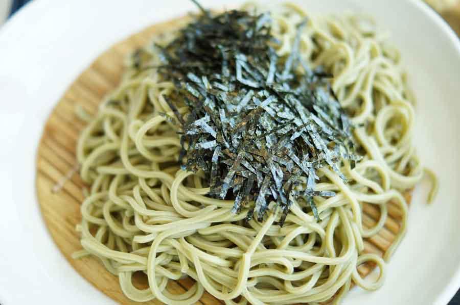 狭山の茶蕎麦2