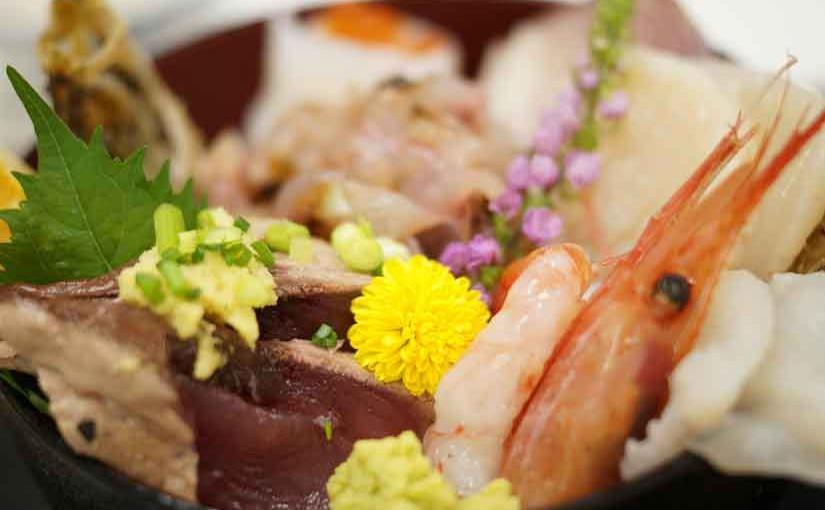 小田原漁港の美味しい魚料理、魚市場食堂さん!!