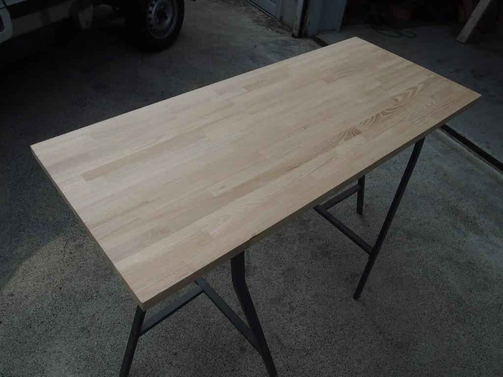 自作キャンプテーブル1