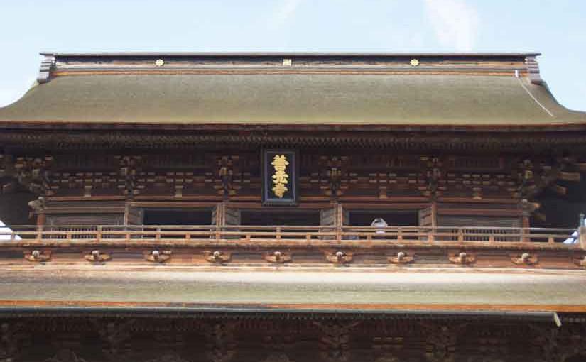 善光寺山門3