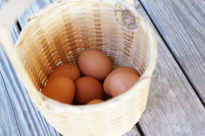 野沢温泉で温泉卵2