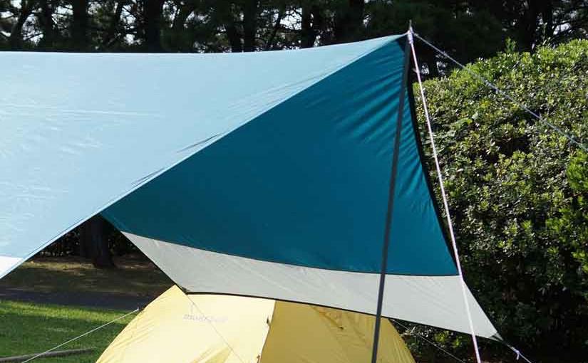 若洲キャンプ場でソロキャンプ、タープ設置編!!