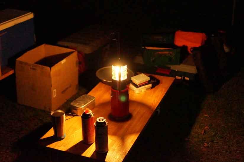 ソロキャンプでブリ祭り5