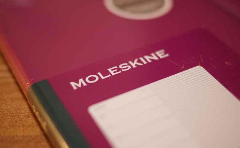 シンプルで使いやすい、モレスキンの手帳!!