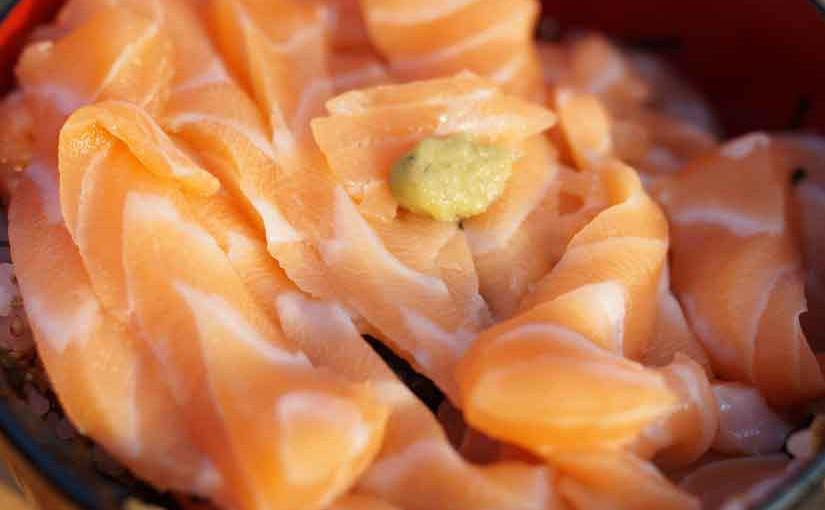 サーモン丼5