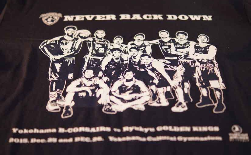 ビーコル、琉球戦限定Tシャツ2