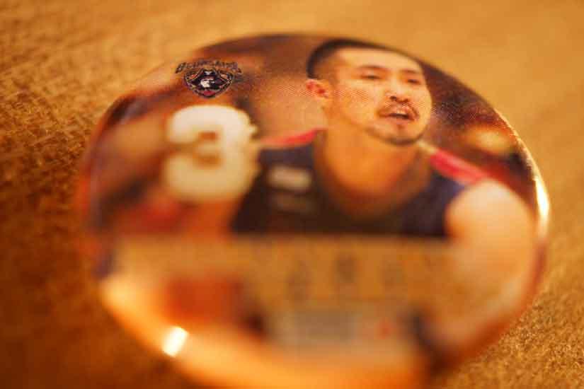 ビコール、#3 SGの蒲谷正之選手