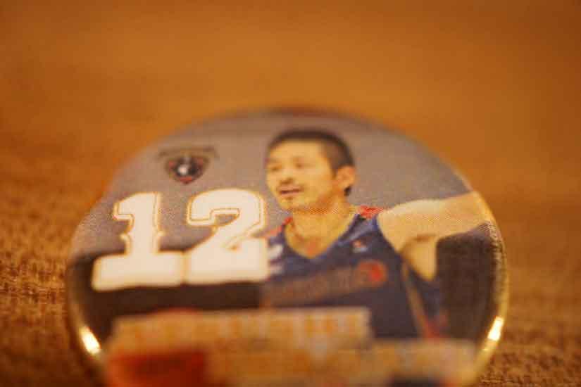 ビコール、#12 PGの稲垣 敦選手1
