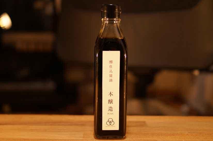 「んまや」さんの、醪仕込醤油 本醸造1
