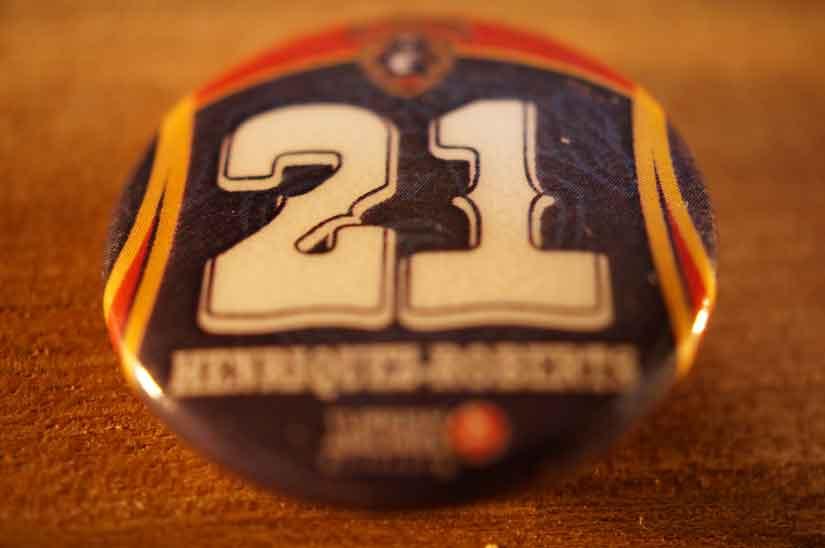 ビコール、#21 Cのジョーダン・ヘンリケス・ロバーツ選手2