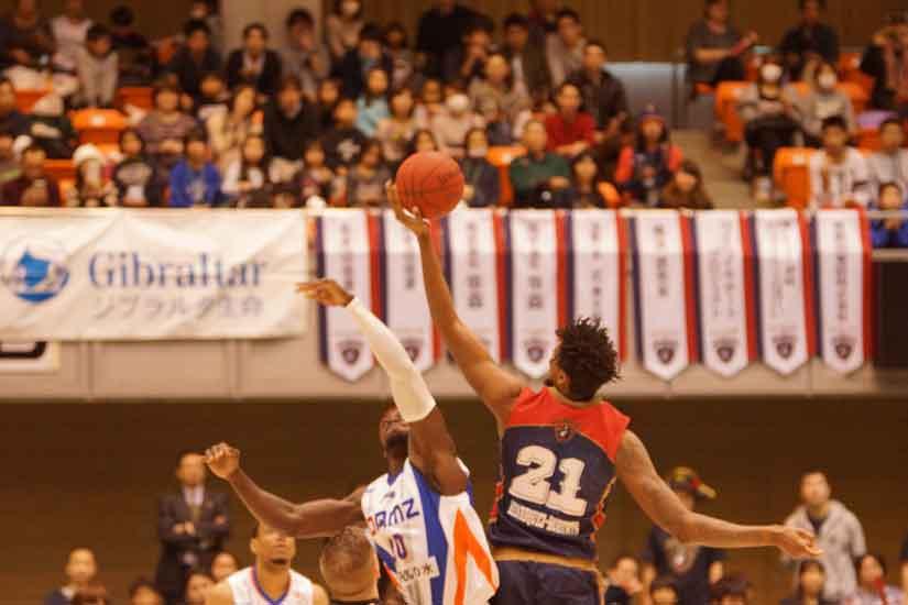 横浜ビー・コルセアーズvs.新潟アルビレックスBB第2戦2