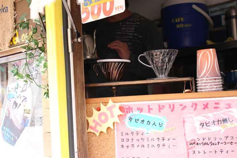 移動カフェの「QQone」2