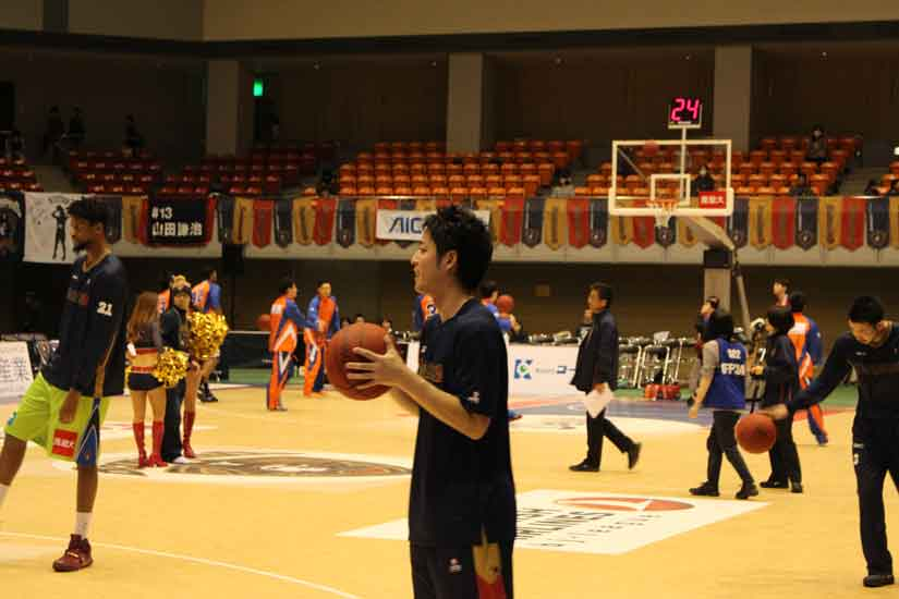 #24 SG,SFの西谷 亮一選手
