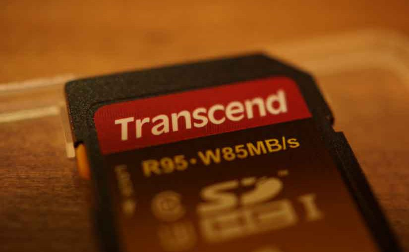 トランセンド社の転送速度の速い、SDHCカード、TS32GSDU3X!!