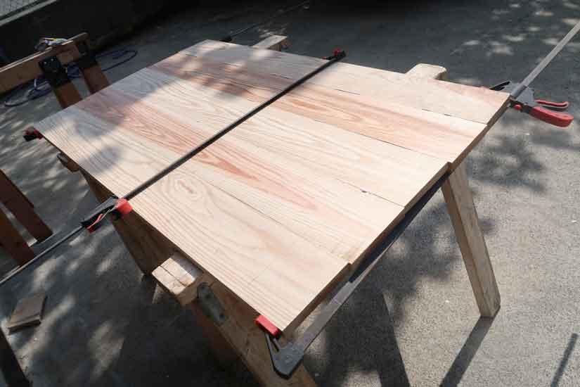 DIYでローテーブルを作りました!!