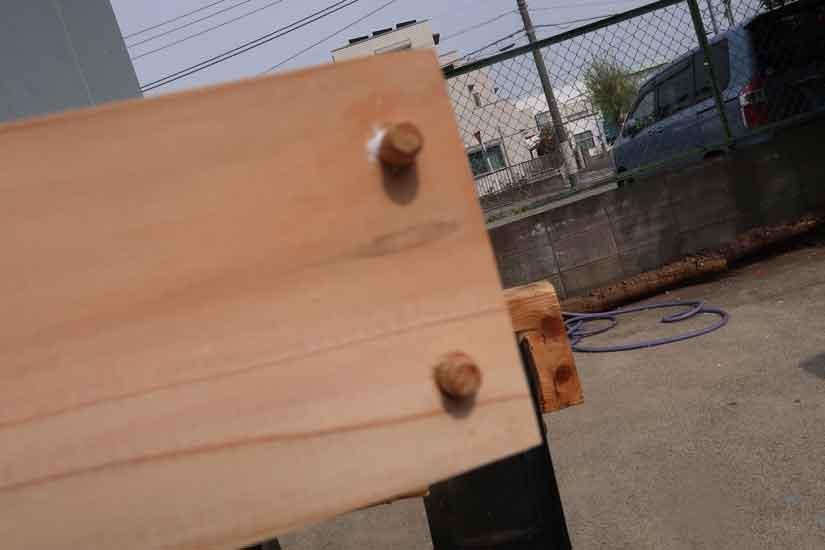 DIYで杉のローテーブルを作りました!!