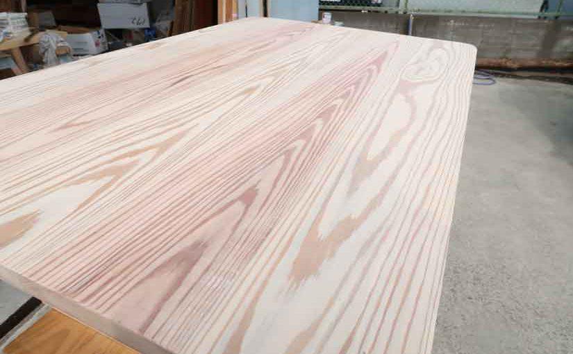 DIYで杉のローテーブルを作りました・中編!!