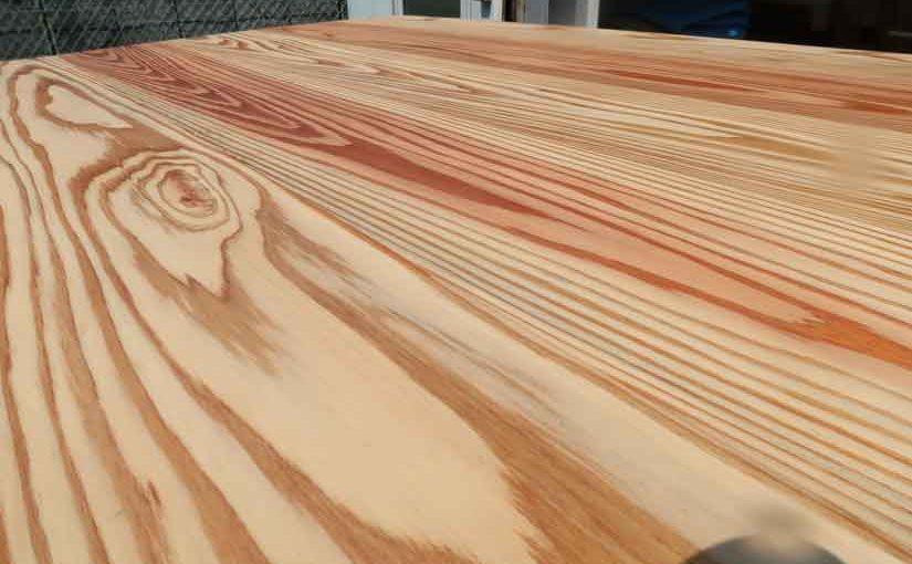 DIYで杉のローテーブルを作りました・後編!!