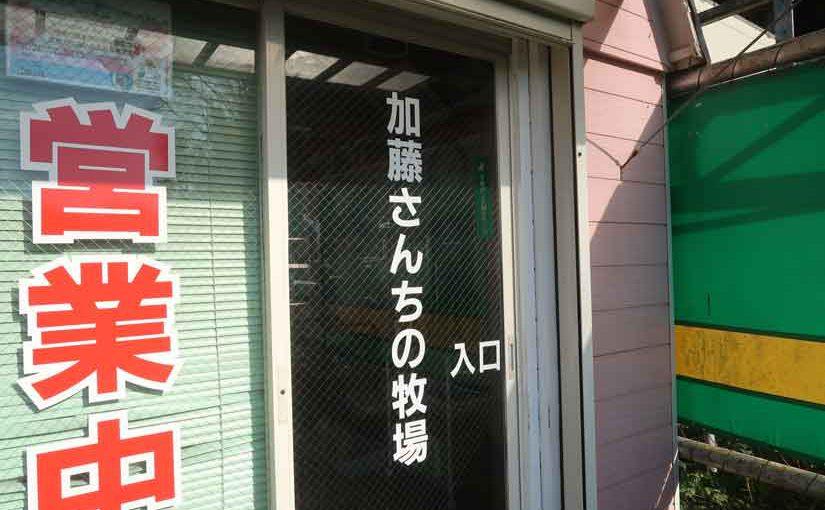 平塚の豚肉直売・加藤さんちの牧場!!